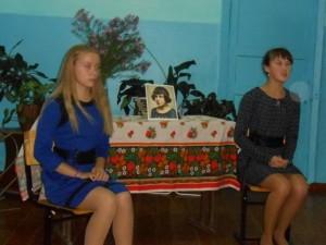 Вечер Марины Цветаевой Алёна и Ксюша
